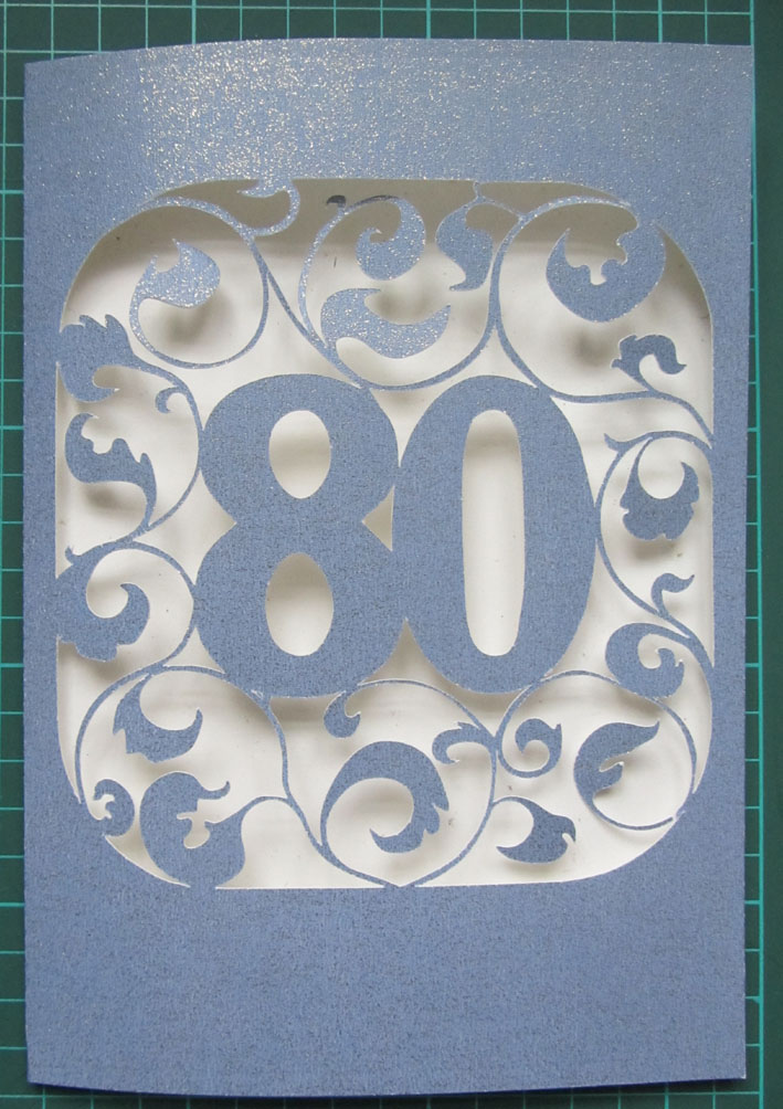 80 Th BIRTHDAY CARD