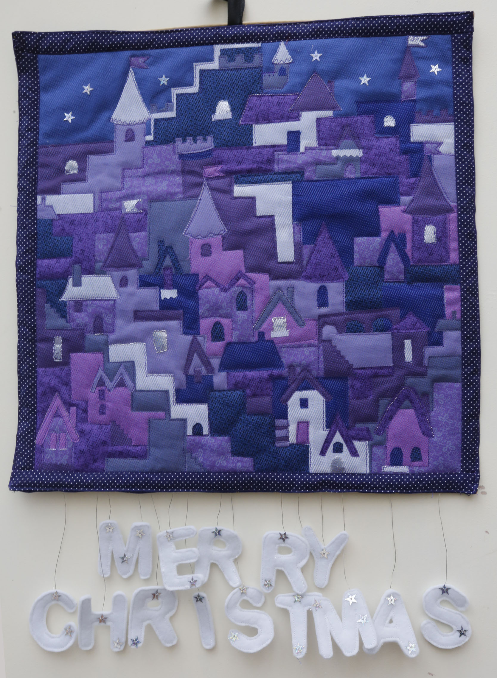 Little Village wallhanging